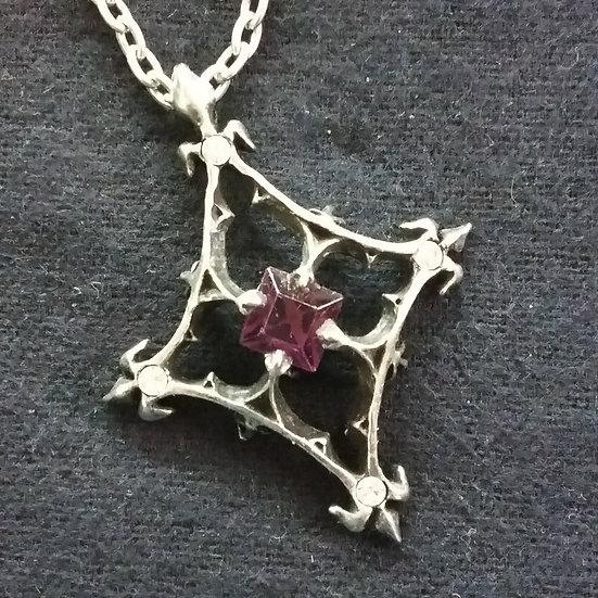 Alchemy Gothic England P367 Star of Udolpho Pendant