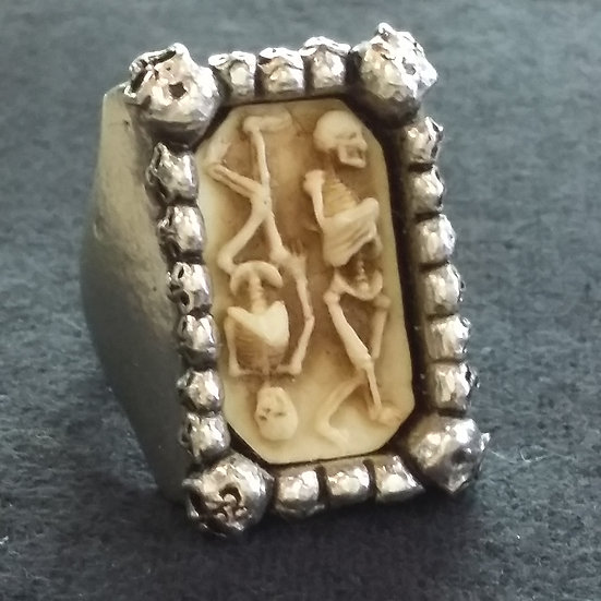 Alchemy Gothic England R27P Pagan Burial Signet Ring