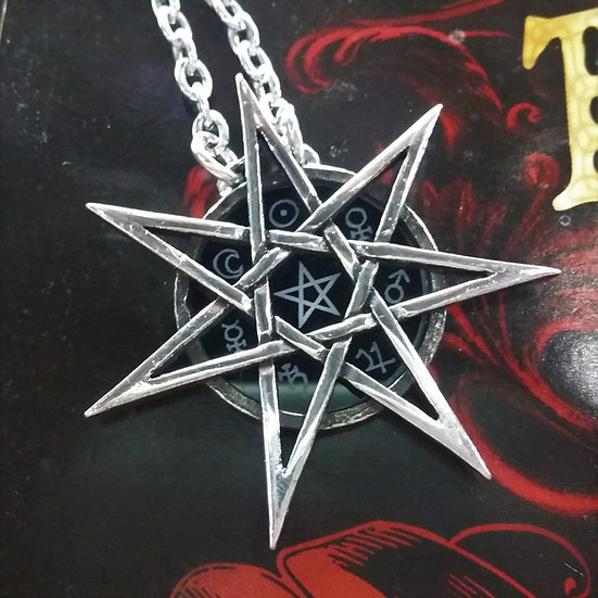 Alchemy Gothic England P878 Elven Star Pendant