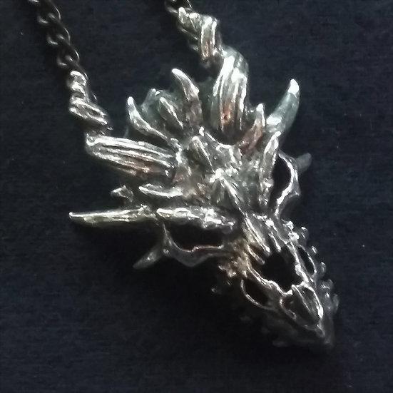 Alchemy Gothic England P625 Dragon Skull Pendant