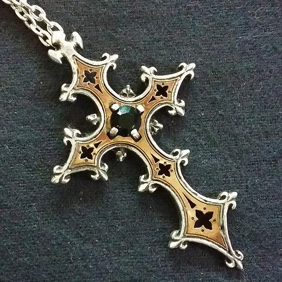 Alchemy Gothic England P343 Crois De Chartres Pendant