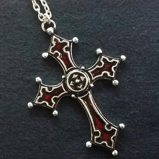 Alchemy Gothic England P206 Noctis Cross Pendant