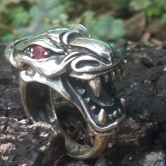 Wales Dragon Ring 925 Sterling Silver