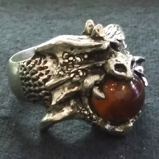Alchemy Gothic England R75 Sphere of Ashleygog Ring