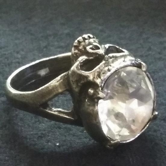 Alchemy Gothic England R100 Crystalhead Ring