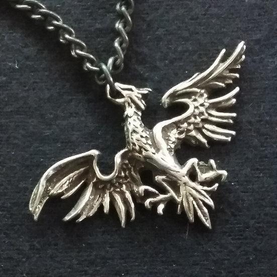 Alchemy Gothic England P624 Mettle Eagle Pendant