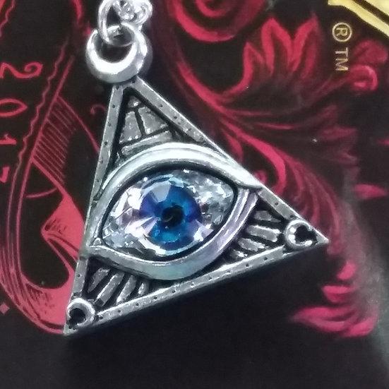 Alchemy Gothic England P827 Eye Of Providence Pendant