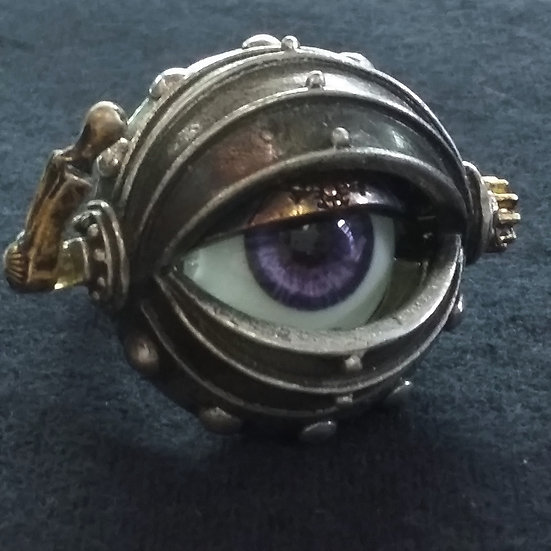 Alchemy Gothic England R178 Automation Eye Ring
