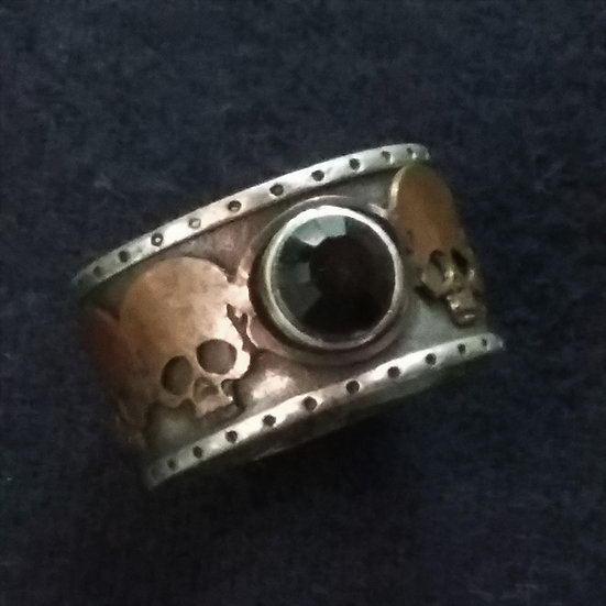Alchemy Gothic England R74 Mort Noir Ring