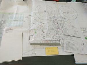 Plans et chiffrage chantier polyéthylène