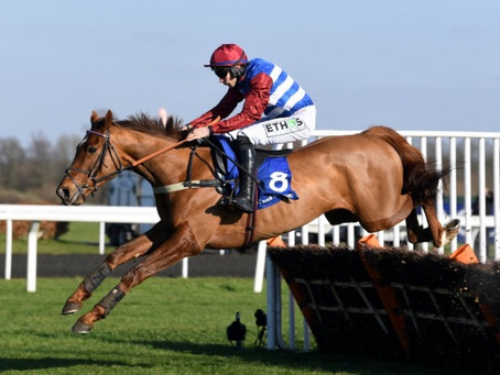 King And Bromley Breezing Into Cheltenham