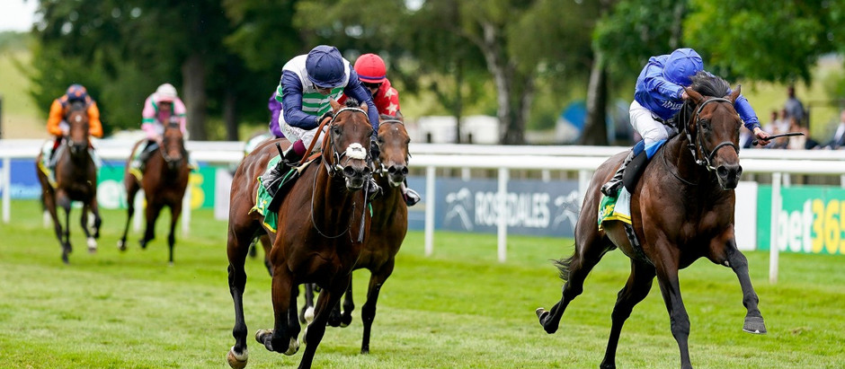Native on the trail of fellow Godolphin stars after narrow Superlative success