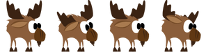 Idle moose sequence