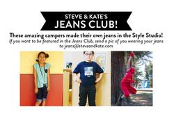 Jeans Club Announcement