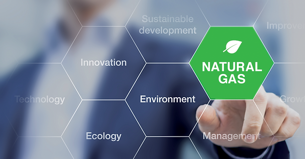 Natural Gas has less impact on the environment and your bottom line.