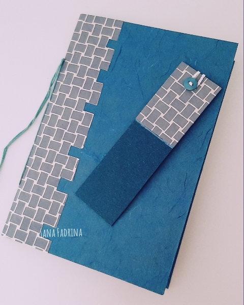 Pack Cuaderno Handmade y Punto de Libro