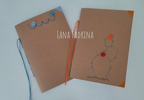 Cuadernos costura