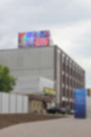 Уличный кабинетный экран P10 размер 5м*12м