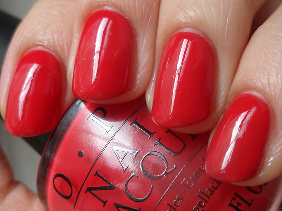 OPI Nail Lacquers - Color So Hot It Berns
