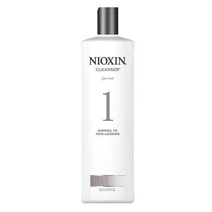 NIOXIN 1 Cleanser 16.9oz