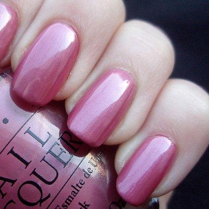 OPI Nail Lacquers - Not So Bora-Bora-Ing Pink