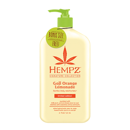 Hempz 17oz Goji Orange Lemonade Body Moisturizer
