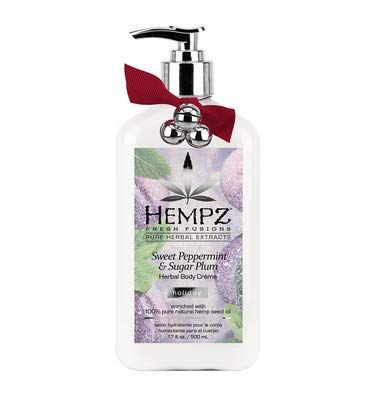 Hempz 17oz Sweet Peppermint and Sugar Plum