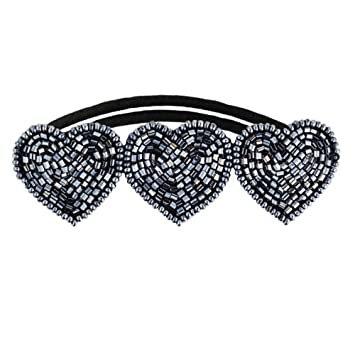 Hair Accessories - Tassel Paddington Hair Tie - Pewter