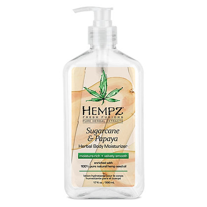 Hempz Sugarcane & Papaya Body Moisturizer 17oz