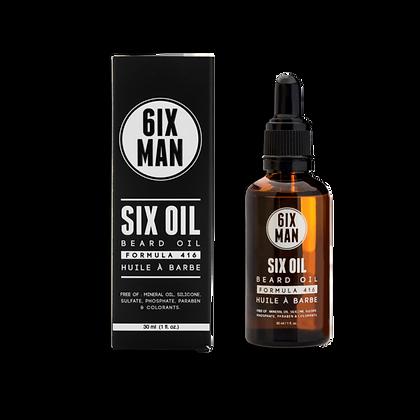 Clearance - 6ixMan Six Oil 30ml