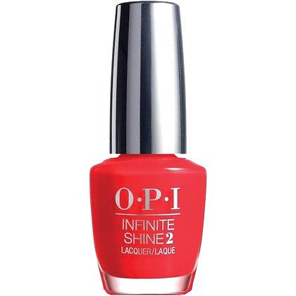 OPI Infinite Shine - Unrepentatnly Red
