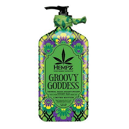 Hempz Groovy Goddess Herbal Body Moisturizer 17oz