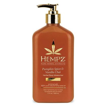 Hempz Pumpkin Spice & Vanilla Chai Body Moisturizer 17oz