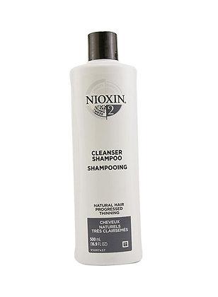 NIOXIN 2 Cleanser 16.9oz
