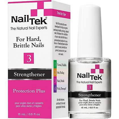 Nail Tek Protection Plus- 3 15ml