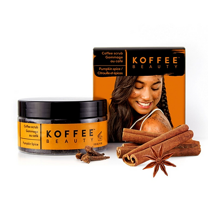 Koffee Beauty Pumpkin Spice Coffee Scrub