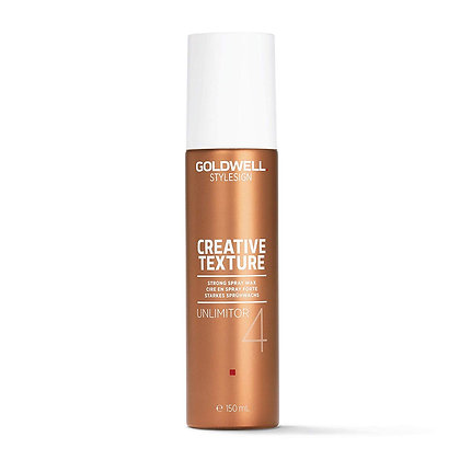 Goldwell Stylesign Creative Texture Unlimitor Strong Spray Wax 4.6 oz