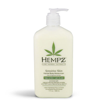 Hempz 17oz Sensitive Skin Body Moisturizer