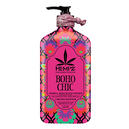 Hempz Boho Chic Herbal Moisturizer 17oz