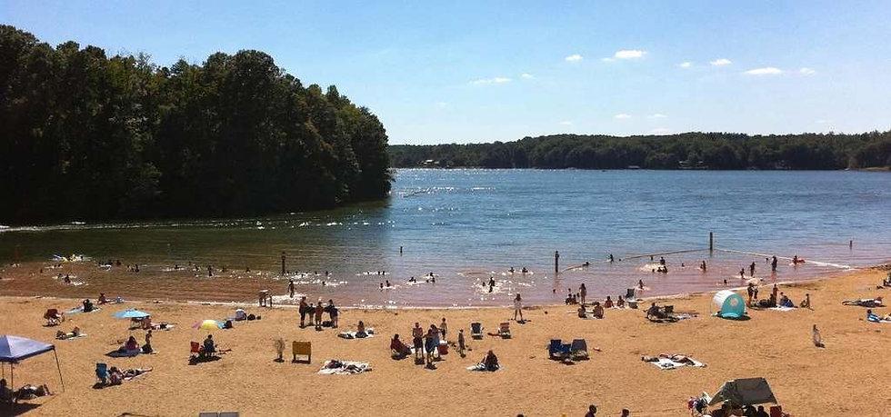lake norman state park beach