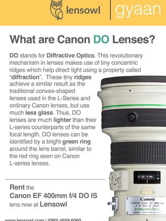Canon DO Lenses