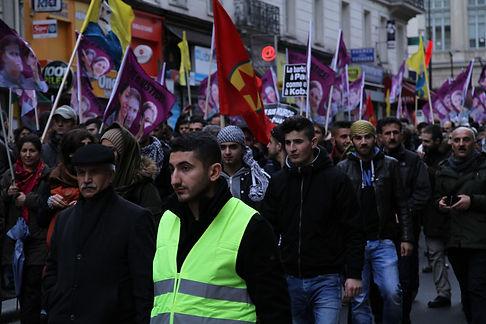 Manifestation Kurdes 10 janvier 2015 Par