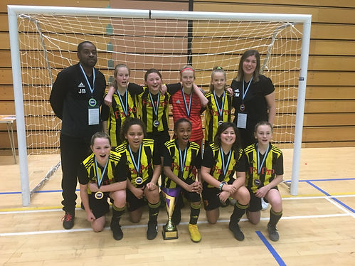 London GDA U12 Herts FA Futsal Tourament winners