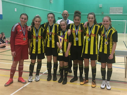 London GDA U14 Herts FA Futsal Tourament winners
