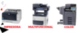 Renta y Venta de Impresoras, Multifunconales y Copiadoras