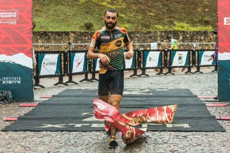 Sérgio Henrique foi o vencedor do Duatlhon masculino