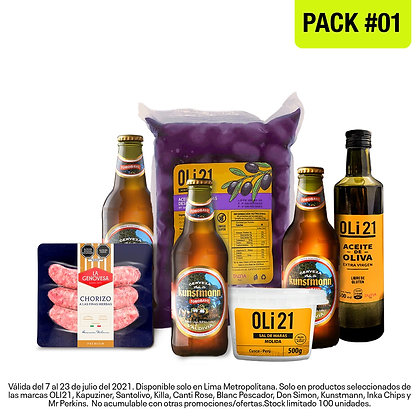 """Pack """"Bicentenario"""" 1"""