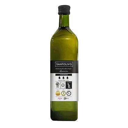 """SANTOLIVO 1 litro Aceite de oliva extra virgen """"O"""" Intensidad Alta"""