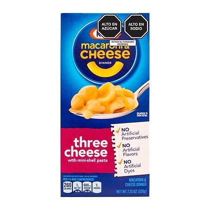 Macaroni & Cheese Three Cheese Kraft 206 g