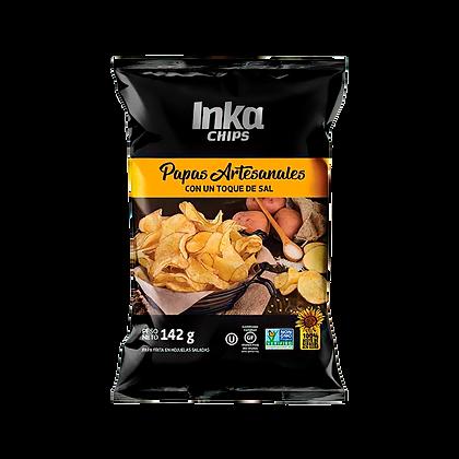 Papas Artesanales Inka Chips Con Un Toque de Sal  142gr